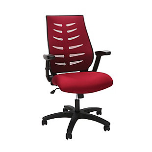 OFM Mid-Back Mesh Office Chair, , large