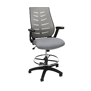 OFM Mid-Back Drafting Chair with Lumbar Support, , large