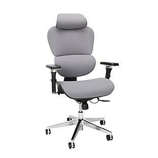 OFM Ergonomic Office Chair with Headrest, , large