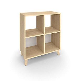 """HON Basyx Basyx 36"""" Cube Bookcase, , rollover"""