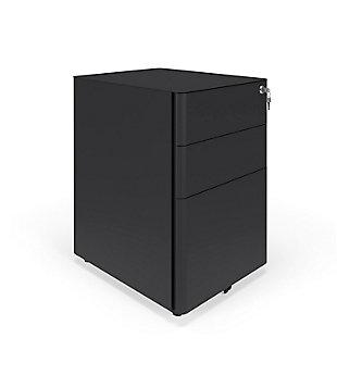 HON Basyx Basyx Modern Mobile Filing Cabinet, , large
