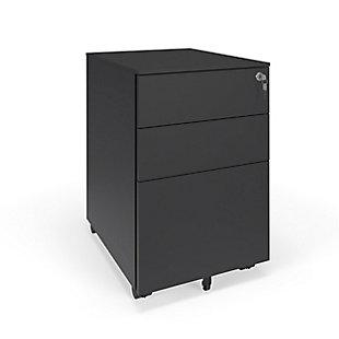 HON Basyx Basyx Modern Mobile Filing Cabinet, , rollover