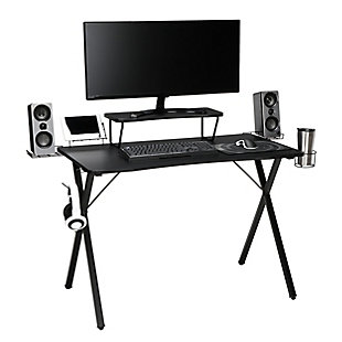 "OFM Essentials 55"" Gaming Desk, , rollover"