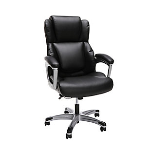 OFM Essentials Ergonomic Leather Office Chair, , large