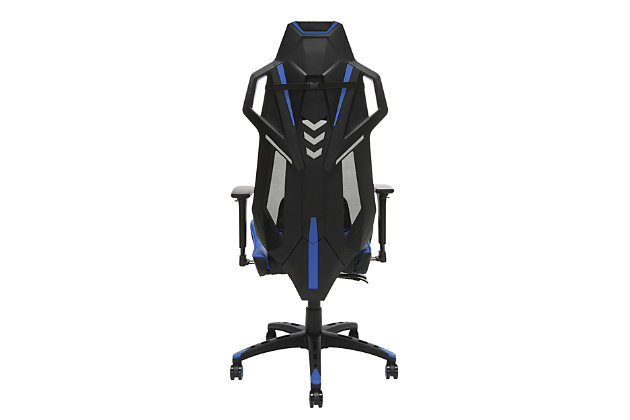 RESPAWN 200 Racing Style Gaming Chair, Blue, large