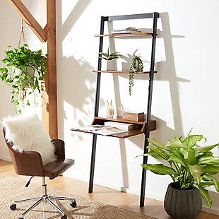 Safavieh Pamella 2 Shelf Leaning Desk, , rollover