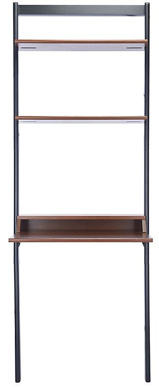 Safavieh Pamella 2 Shelf Leaning Desk, , large