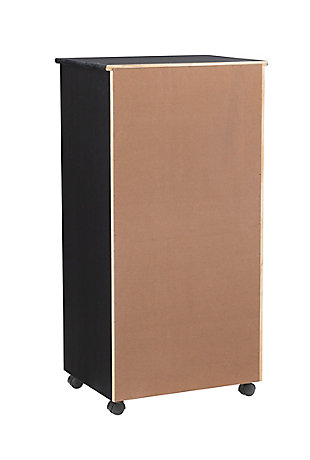Linon Boyd 8-Drawer Rolling Storage Cart, , large