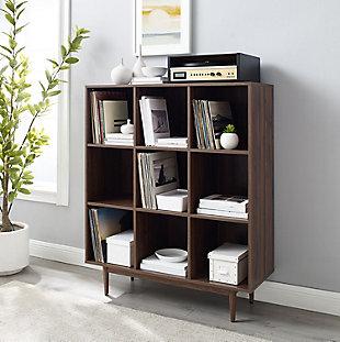 Crosley Liam 9-Cube Bookcase, , rollover