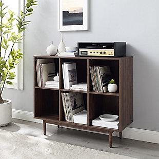 Crosley Liam 6-Cube Bookcase, , rollover