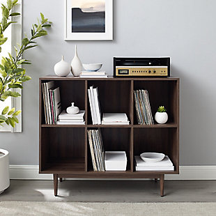 Crosley Liam 6-cube Bookcase, , large