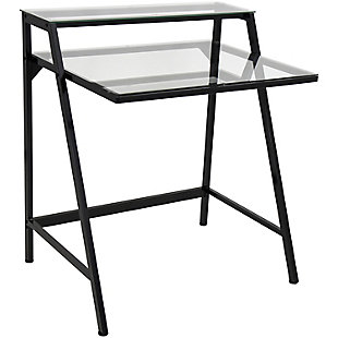 LumiSource 2-Tier Computer Desk, , large