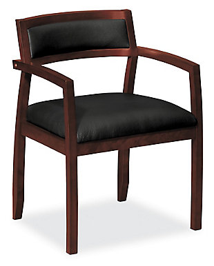 HON BASYX Topflight Wood Guest Chair, , large