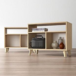 HON BASYX Modern Cube Storage Credenza, , rollover
