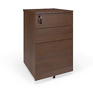 HON BASYX Mobile Filing Cabinet, , large