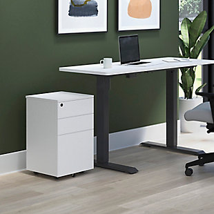 HON BASYX Mobile Filing Cabinet, , rollover