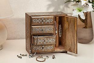 GG Mango Inlay Heritage Jewelry Box, , rollover