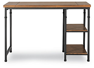 Austin 2 Shelf Desk, , large