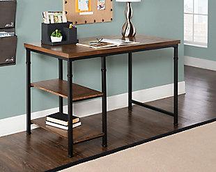 Austin 2 Shelf Desk, , rollover