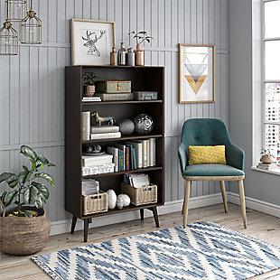 Novogratz Brittany 4-Shelf Bookcase, , rollover