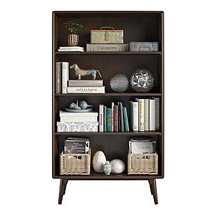 Novogratz Brittany 4-Shelf Bookcase, , large