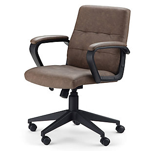 Simpli Home Brewer Swivel Office Chair, , large