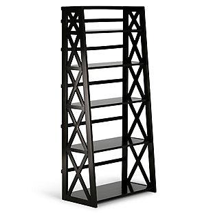 """Simpli Home Kitchener 63"""" Wooden Ladder Shelf, , large"""