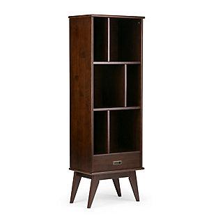 "Simpli Home Draper 64"" Bookcase and Storage Unit, , large"