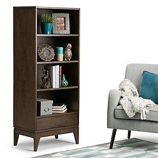 """Simpli Home Harper 60"""" Bookcase with Storage, , rollover"""
