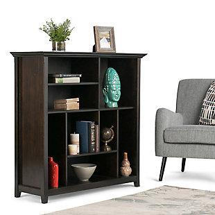 "Simpli Home Amherst 44"" Multi Cube Bookcase, , rollover"