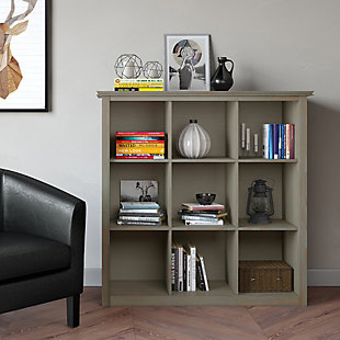 Simpli Home Artisan Wooden 9-Cube Bookcase and Storage Unit, , rollover