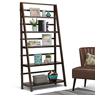 """Simpli Home Acadian 72"""" Rustic Bookcase, , rollover"""