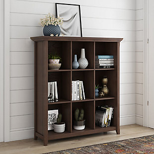 Simpli Home Acadian 9-Cube Bookcase and Storage Unit, , rollover