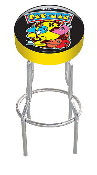 Arcade 1UP PAC-MAN Adjustable Stool, , rollover