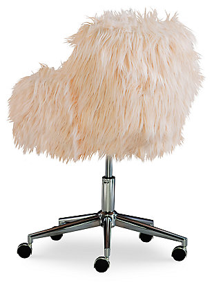 Fiona Chrome Base Office Chair, , large
