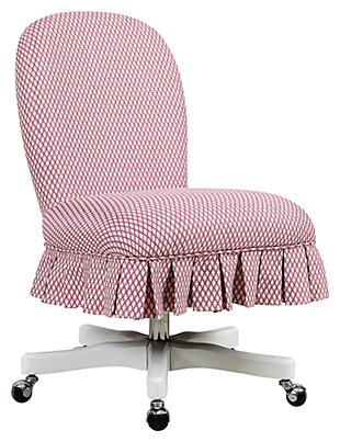 Penny Pink Office Chair, , rollover