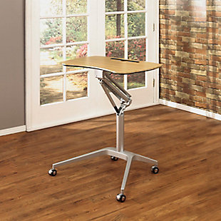 Calico Designs Ridge Height Adjustable Laptop Cart, , rollover