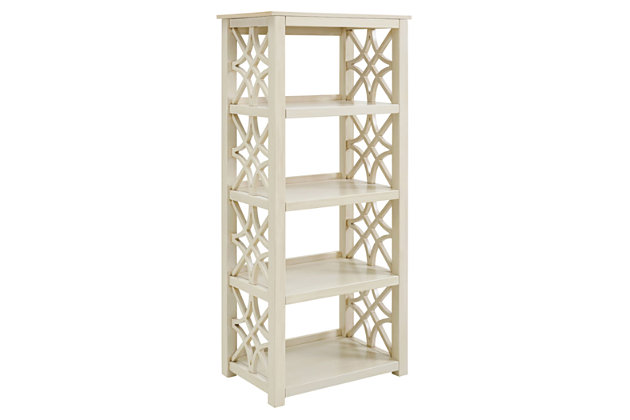 Whitley Antique Bookcase, , large