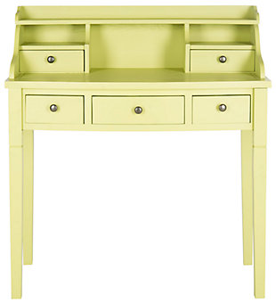 5 Drawer Writing Desk, , large