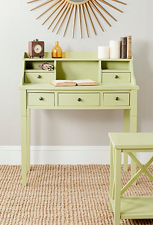 5 Drawer Writing Desk, , rollover