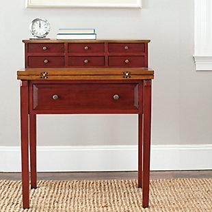 7 Drawer Fold Down Desk, , rollover