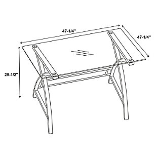 World Map Desk and Chair Set, , large