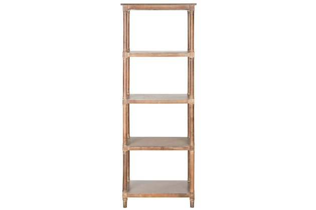 Odessa 5-Tier Bookcase, , large