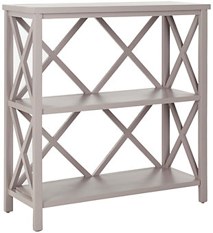 Stovak 2-Tier Open Bookcase, , large