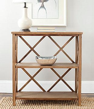 Stovak 2-Tier Open Bookcase, , rollover