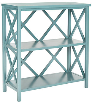 Stovak 2-Tier Open Bookcase, , large