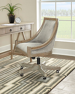 Morgan Quilted Office Chair, , rollover