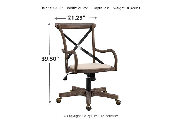 Reed Office Chair, , large