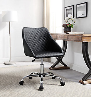 Eliott Quilted Office Chair, , rollover