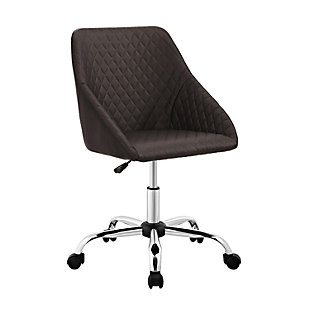 Eliott Quilted Office Chair, , large